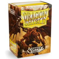 Dragon Shield – 100 protèges cartes standard : Cuivre