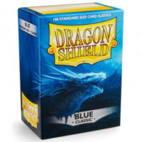 Dragon Shield – 100 protèges cartes standard : Bleu