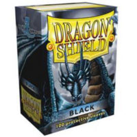 Dragon Shield – 100 protèges cartes standard : Noir
