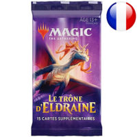 Booster Magic The Gathering : Le Trône D'eldraine (Francais)