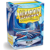 Dragon Shield – 100 protèges cartes standard : Bleu Mat