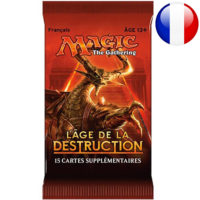 Booster Magic The Gathering : L'age De La Destruction (Francais)