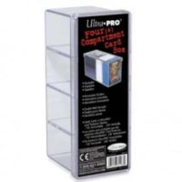 Ultra Pro – 4-Compartment Card Storage Box