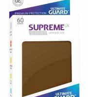 Ultimate Guard 60 pochettes Supreme Mini UX Marron