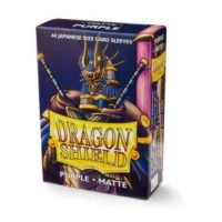 Dragon Shield – 60 protèges cartes Mini : Violet Mat