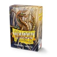 Dragon Shield – 60 protèges cartes Mini : Cuivre Mat