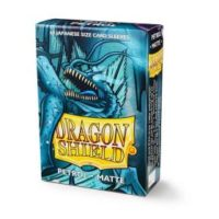 Dragon Shield – 60 protèges cartes Mini : Petrol Mat