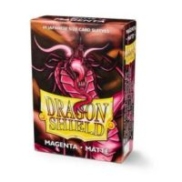 Dragon Shield – 60 protèges cartes Mini : Magenta Matte