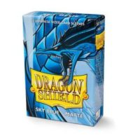 Dragon Shield – 60 protèges cartes Mini : Bleu Ciel Mat