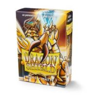 Dragon Shield – 60 protèges cartes Mini : Or Mat