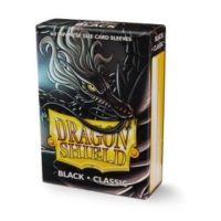 Dragon Shield – 60 protèges cartes Mini : Noir