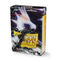 Dragon Shield – 60 protèges cartes Mini : Transparent