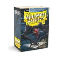 Dragon Shield – 100 protèges cartes standard : Noir Mat