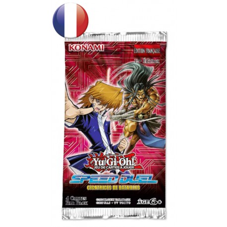 Booster Speed Duel Cicatrices de Bataille FR