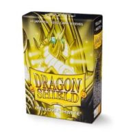 Dragon Shield – 60 protèges cartes Mini : Jaune Mat