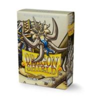 Dragon Shield – 60 protèges cartes Mini : Ivoire Mat