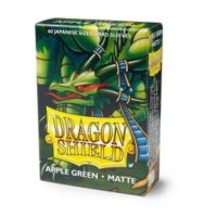 Dragon Shield – 60 protèges cartes Mini : Vert Pomme Mat