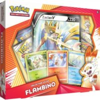 COFFRET POKÉMON COLLECTION GALAR : FLAMBINO – ZACIAN V