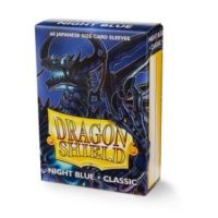 Dragon Shield – 60 protèges cartes Mini : Bleu Nuit