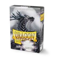 Dragon Shield – 60 protèges cartes Mini : Slate Mat
