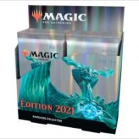 Boite De 12 Boosters Collector Magic The Gathering : Édition 2021 (Francais)
