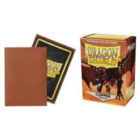 Dragon Shield – 100 protèges cartes standard : Cuivre Mat