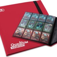 Ultimate Guard 12-Pocket QuadRow FlexFolio Rouge
