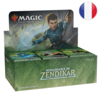 BOITE DE 36 BOOSTERS RENAISSANCE DE ZENDIKAR – MAGIC FR