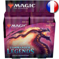 Boite de 12 Boosters Collector Magic The Gathering : Commander Legendes