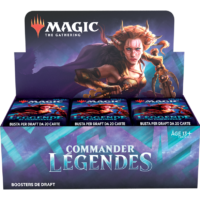 Boite de 24 Boosters Magic The Gathering : Commander Legendes (Précommande : Date de Sortie 20/11/20)