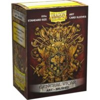 Dragon Shield Brushed Art Sleeves – General Vicar : Coat-of-Arms (100 Sleeves)