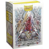 Dragon Shield Brushed Art Sleeves – Lane Thunderhoof : Coat-of-Arms (100 Sleeves)