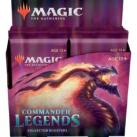 Boite de 12 Boosters Collector Magic The Gathering : Commander Legendes (Précommande : Date de Sortie 20/11/20)