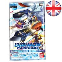 Booster Digimon Card Game : Version 1.0 (Anglais) (Précommande : date de sortie 27/11/2020)
