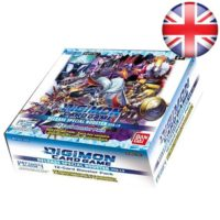 Boite De 24 Boosters Digimon Card Game : Version 1.0 (Anglais)