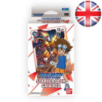 Deck De Demarrage Digimon Card Game : Gaia Red (Anglais)
