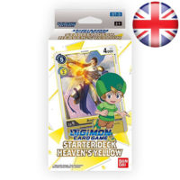 Deck De Demarrage Digimon Card Game : Heaven's Yellow (Anglais)