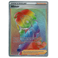 CARTE POKEMON ALISTAIR RAINBOW 192/185 FRANCAISE