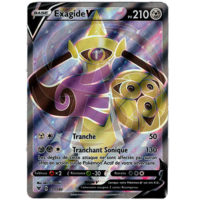 CARTE POKEMON EXAGIDE V FULL ART 177/185 FRANCAISE