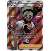 CARTE POKEMON FAIZA FULL ART 180/185 FRANCAISE