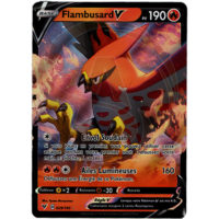 CARTE POKEMON FLAMBUSARD V 029/185 FRANCAISE