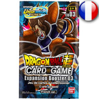 Booster Dragon Ball Super Card Game : Unison Warrior – Expansion Booster 03