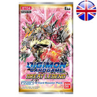 Booster Digimon Card Game : Great Legend (Anglais) (Précommande : Date de Sortie le 20 Mai)