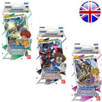 Lot De 3 Decks Digimon Card Game : Giga Green, Machine Black, Venomous Violet (Anglais) (Précommande : Date de Sortie le 20 Mai)