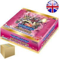 Carton de 12 Boites de Boosters Digimon Card Game : Great Legend (Anglais) (Précommande : Date de Sortie le 20 Mai)