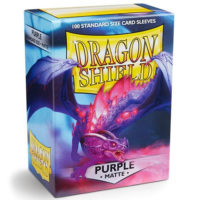 Dragon Shield – 100 proteges cartes standard : Violet Mat