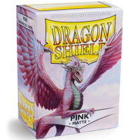 Dragon Shield – 100 proteges cartes standard : Rose Mat