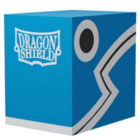Deck Box Dragon Shield : Double Shell Bleu / Noir 100+