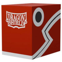 Deck Box Dragon Shell : Double Shell Rouge / Noir 100+