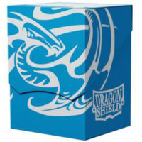 Deck Box Dragon Shield : Deck Shell Bleu / Noir 80+
